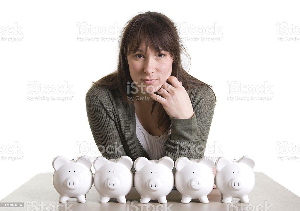 Lots of Savings royalty-free stock photo