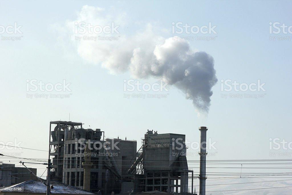 Lots of Smoke stock photo