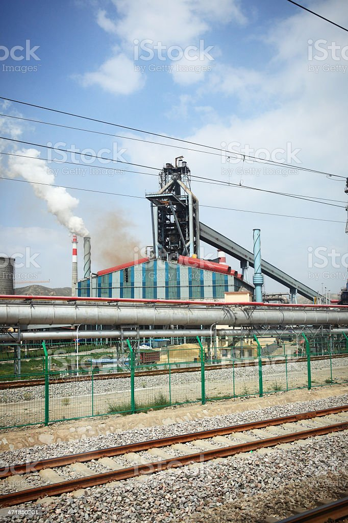 Lots of Smoke royalty-free stock photo