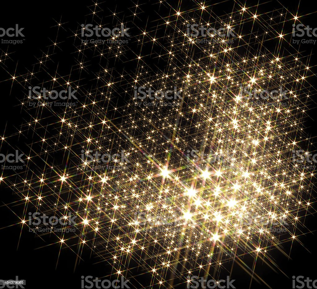 lots of stars stock photo