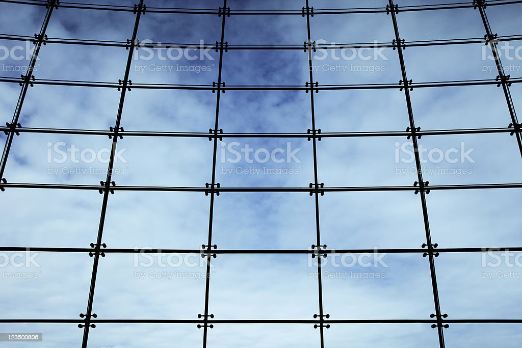 Lots of TV Panels or Windows royalty-free stock photo