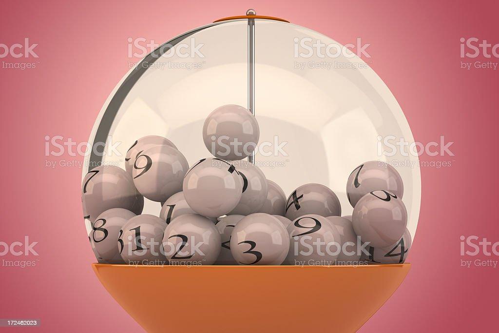 Lottery Balls royalty-free stock photo