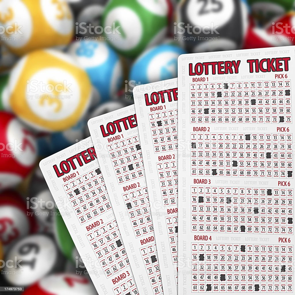 lottery stock photo