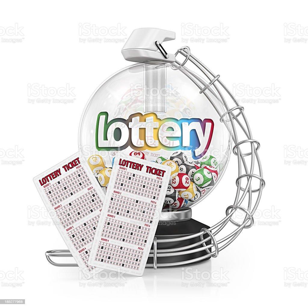 lottery royalty-free stock photo