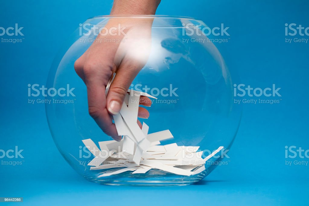 Lottery!! stock photo