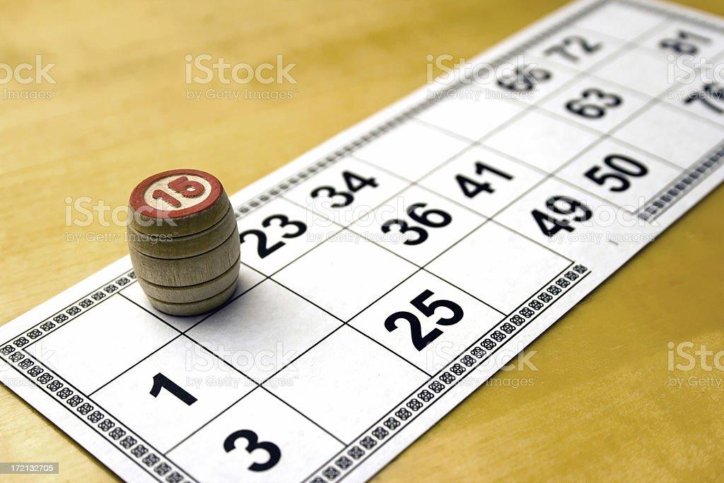 lotto 1 royalty-free stock photo