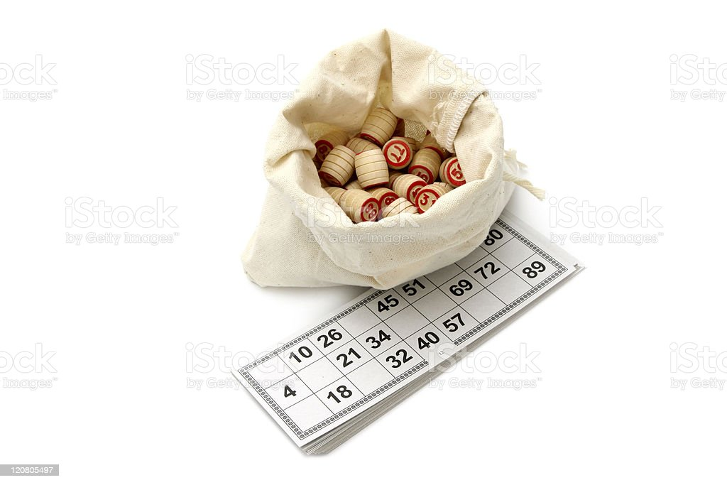 Lotto game royalty-free stock photo