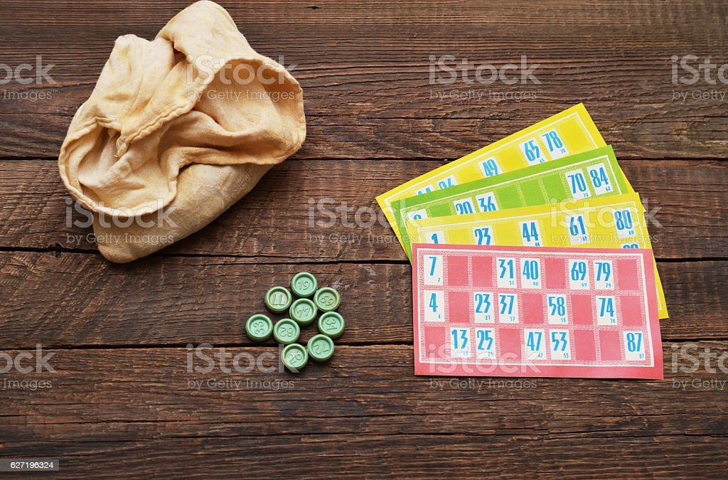 Lotto game stock photo