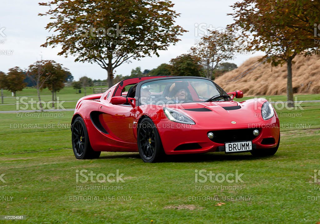 Lotus Elise from 2013 stock photo
