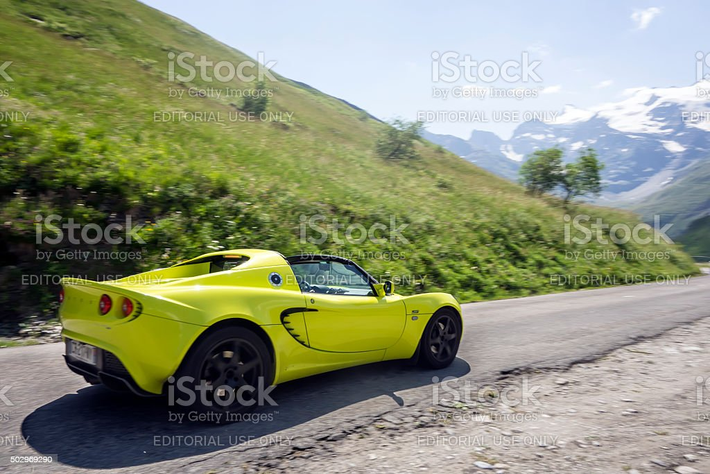 Lotus Elise stock photo