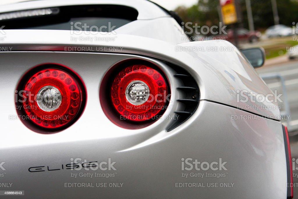 Lotus Elise Rear Tail Light stock photo