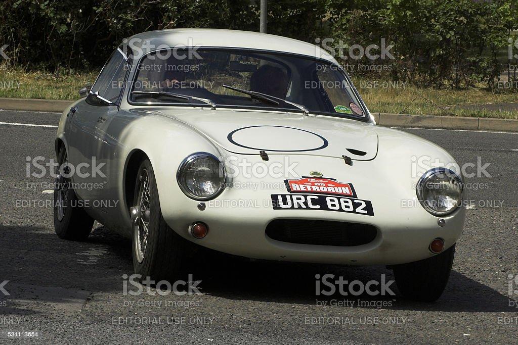 Lotus Elite classic car stock photo