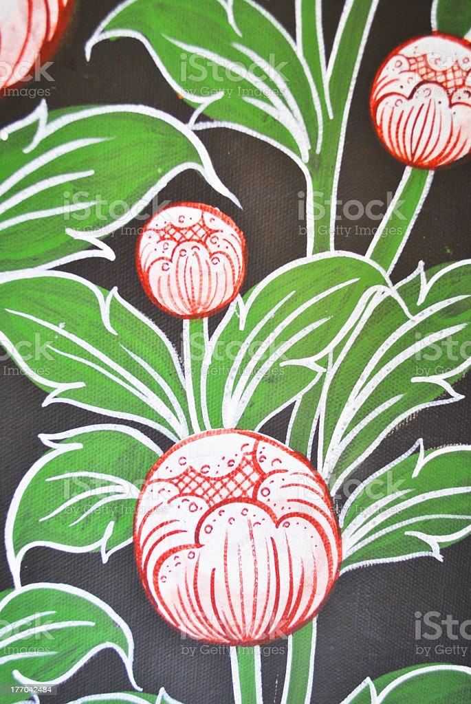 lotus paint stock photo
