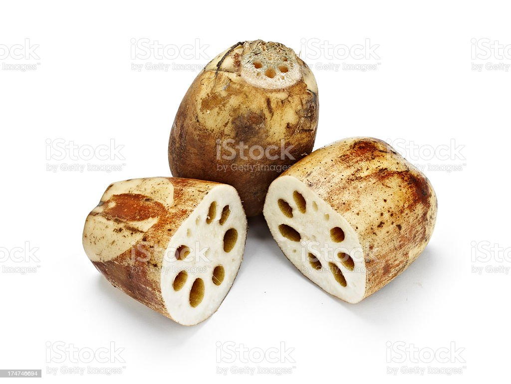 Lotus Root royalty-free stock photo