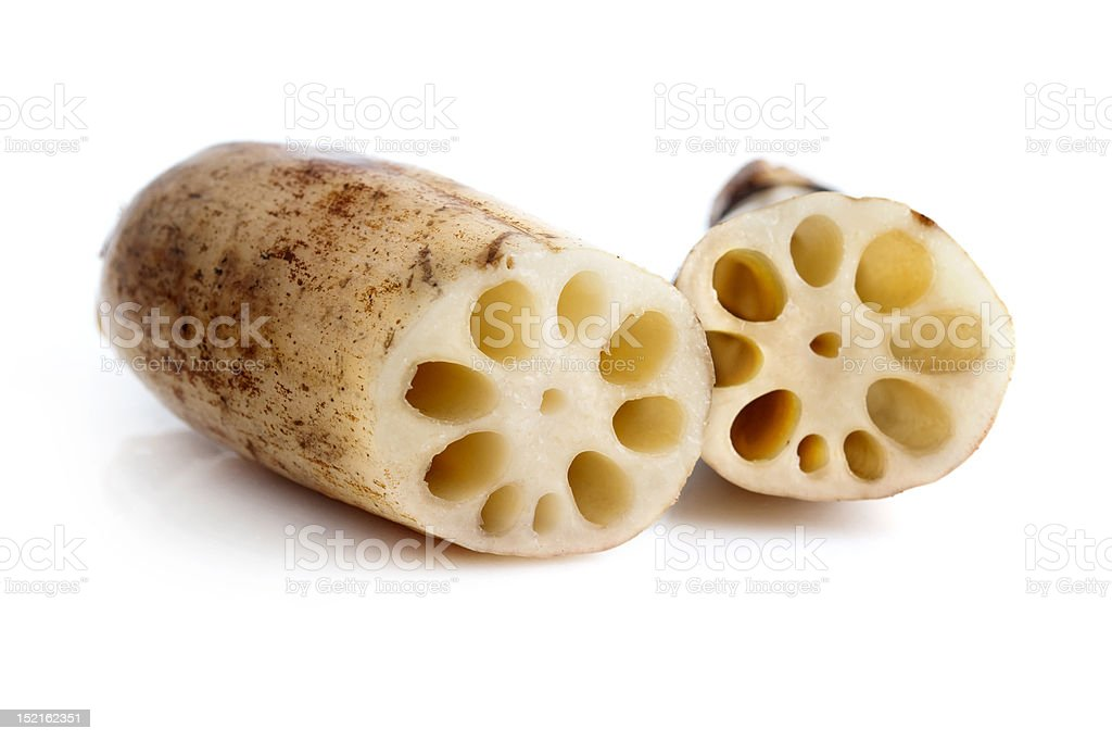 Lotus Roots royalty-free stock photo