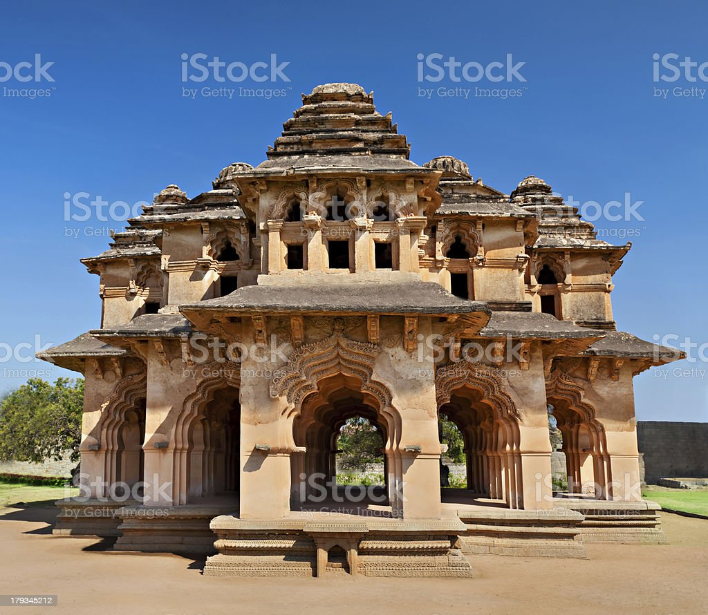Lotus Temple, India stock photo