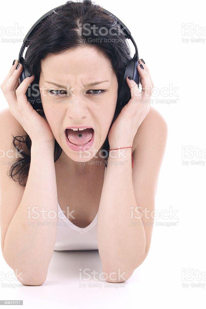 loud music royalty-free stock photo