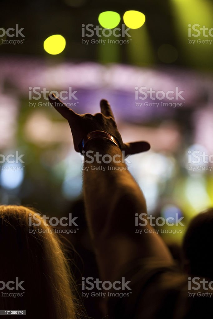 Loud party royalty-free stock photo