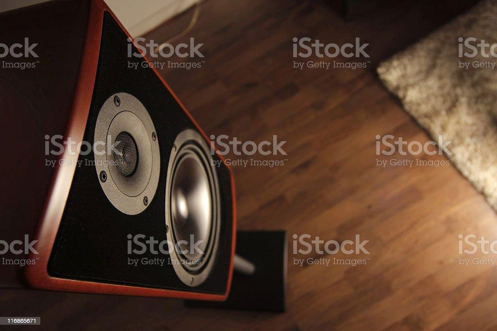 Loudspeaker stock photo