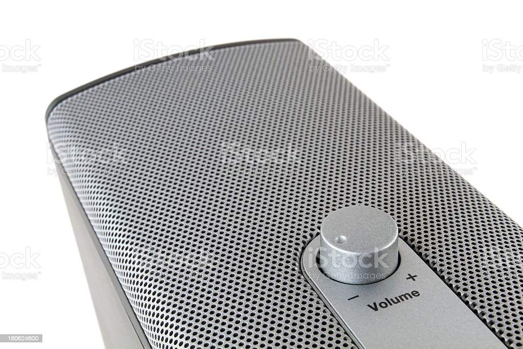 Loudspeaker stock photo