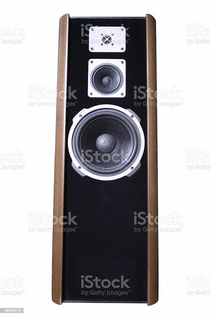 loudspeaker royalty-free stock photo