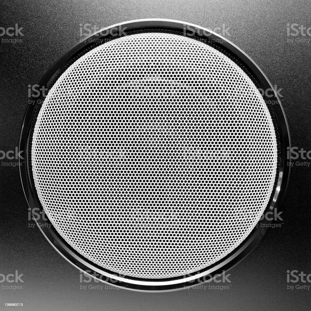 loudspeaker - subwoofer royalty-free stock photo