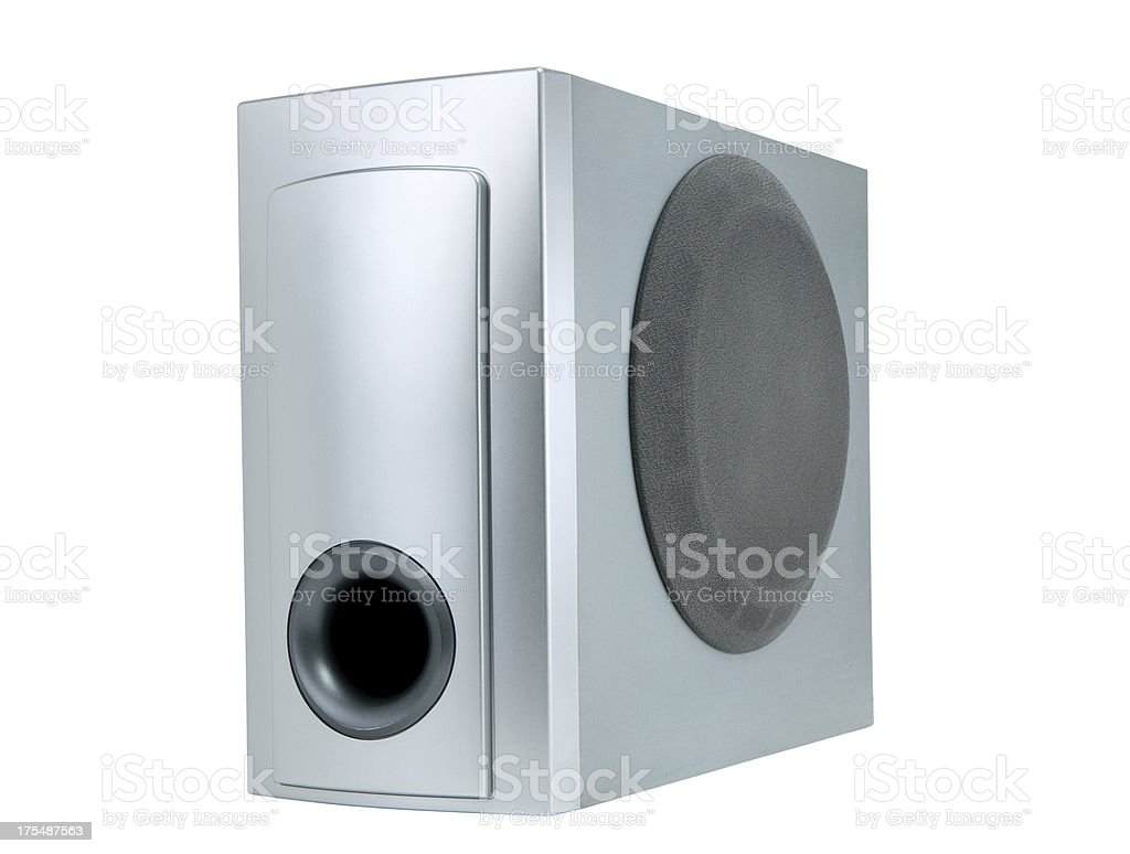 Loudspeaker+Clipping Path (Click for more) stock photo