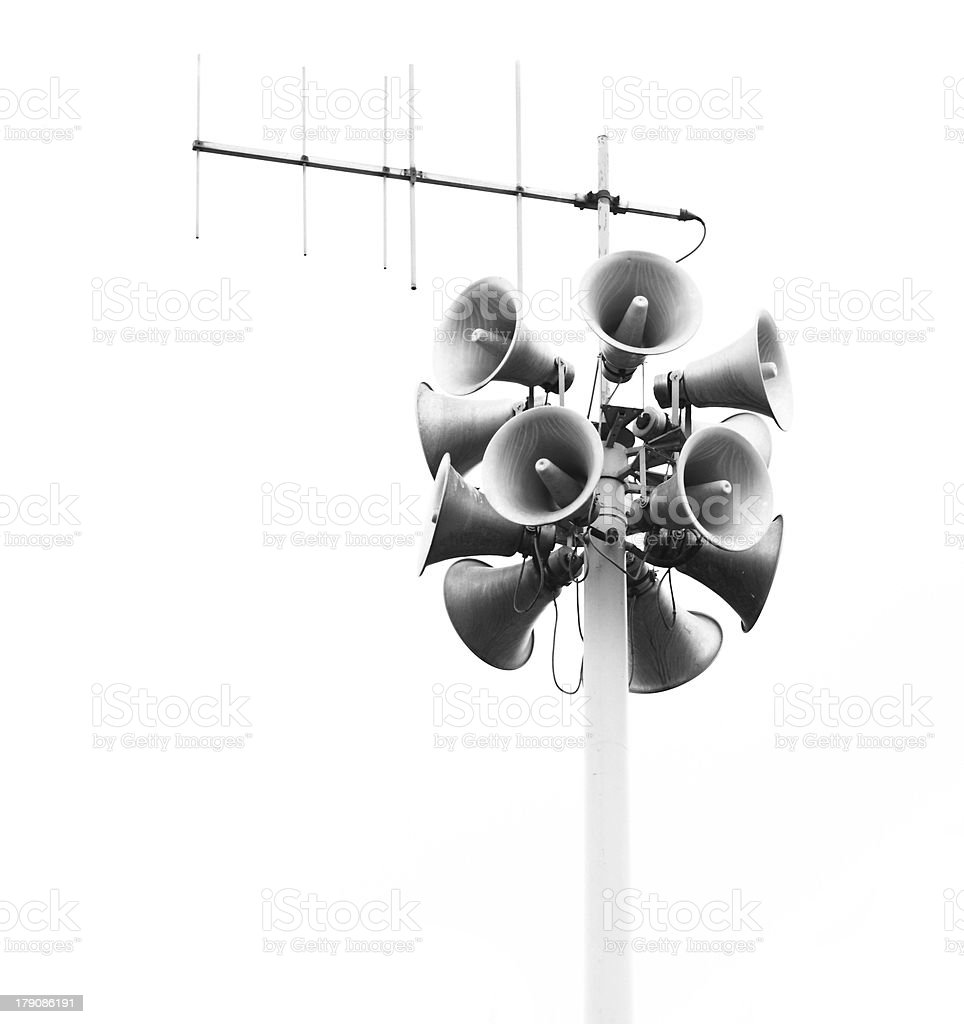 loudspeakers royalty-free stock photo