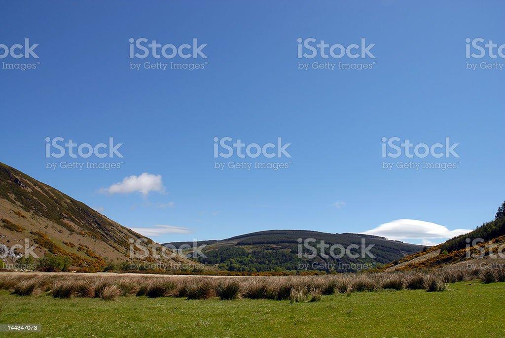 Lough Dan, irische Landschaft. Lizenzfreies stock-foto