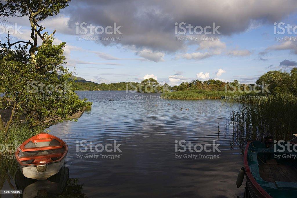 Lough Leane Killarney stock photo