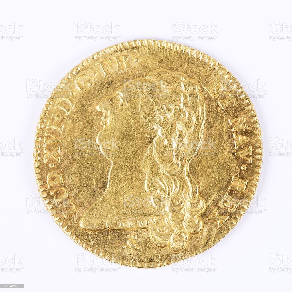 louis d'or stock photo