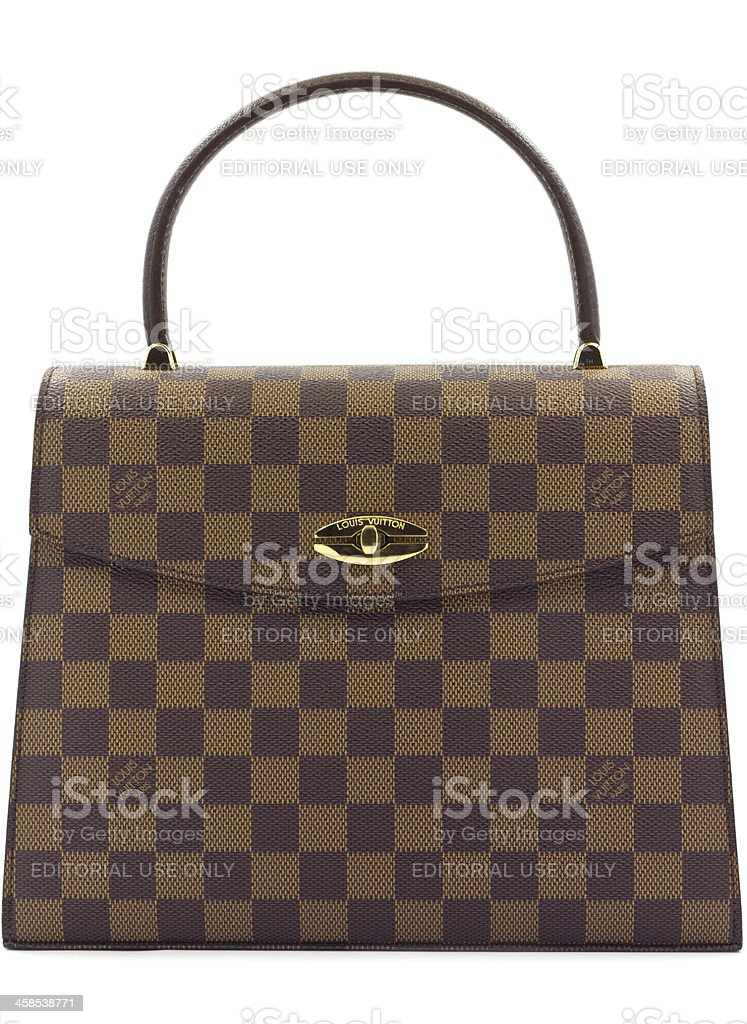 Louis Vuitton bag stock photo