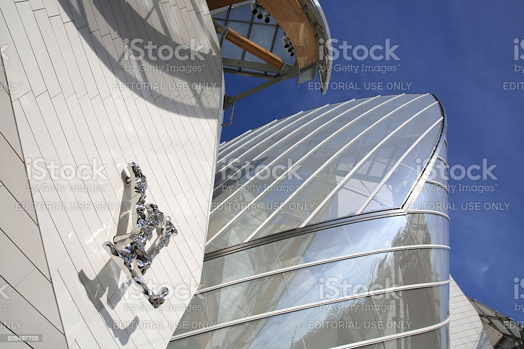 Louis Vuitton Foundation stock photo