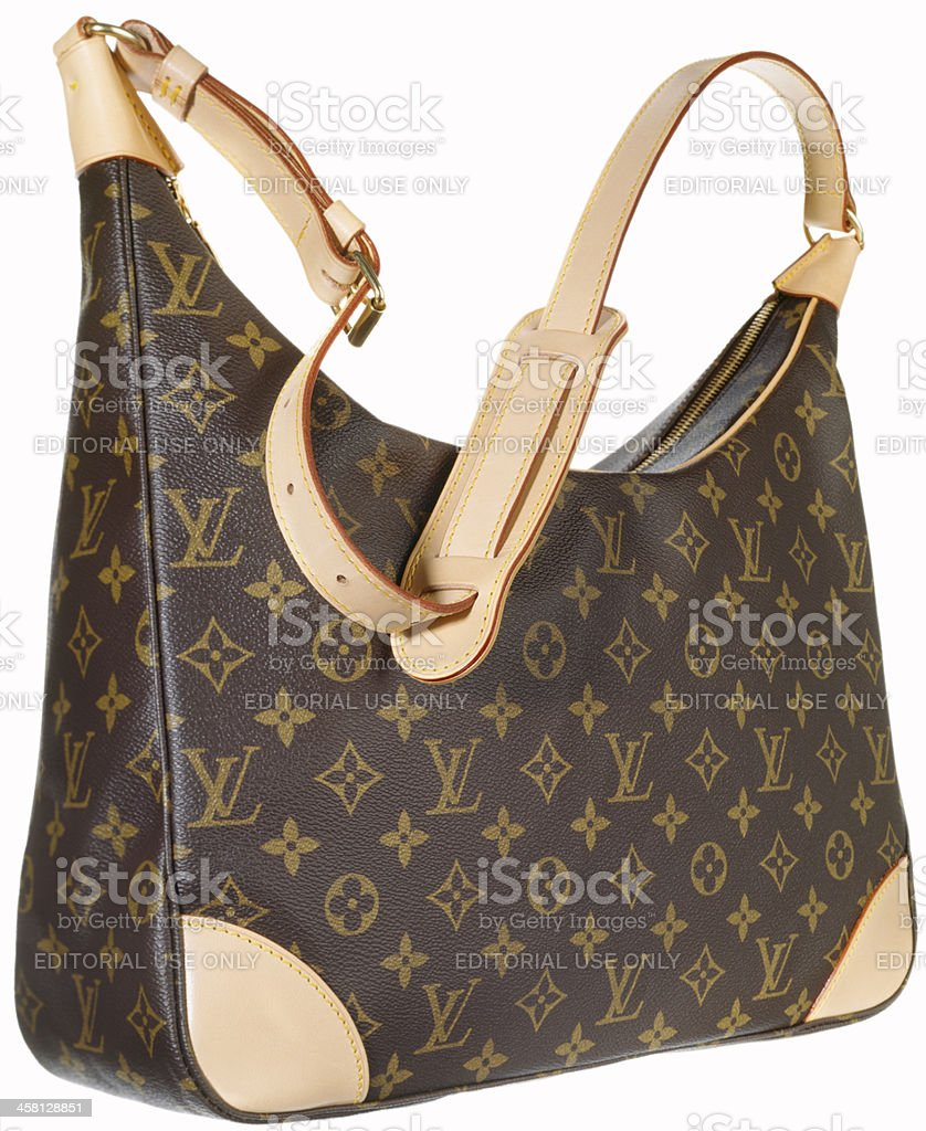 Louis Vuitton handbag stock photo