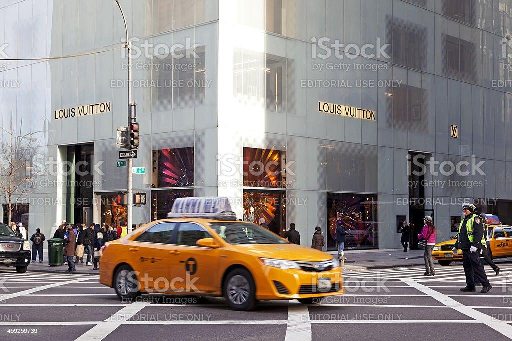 Louis Vuitton NYC # 2 XXXL royalty-free stock photo