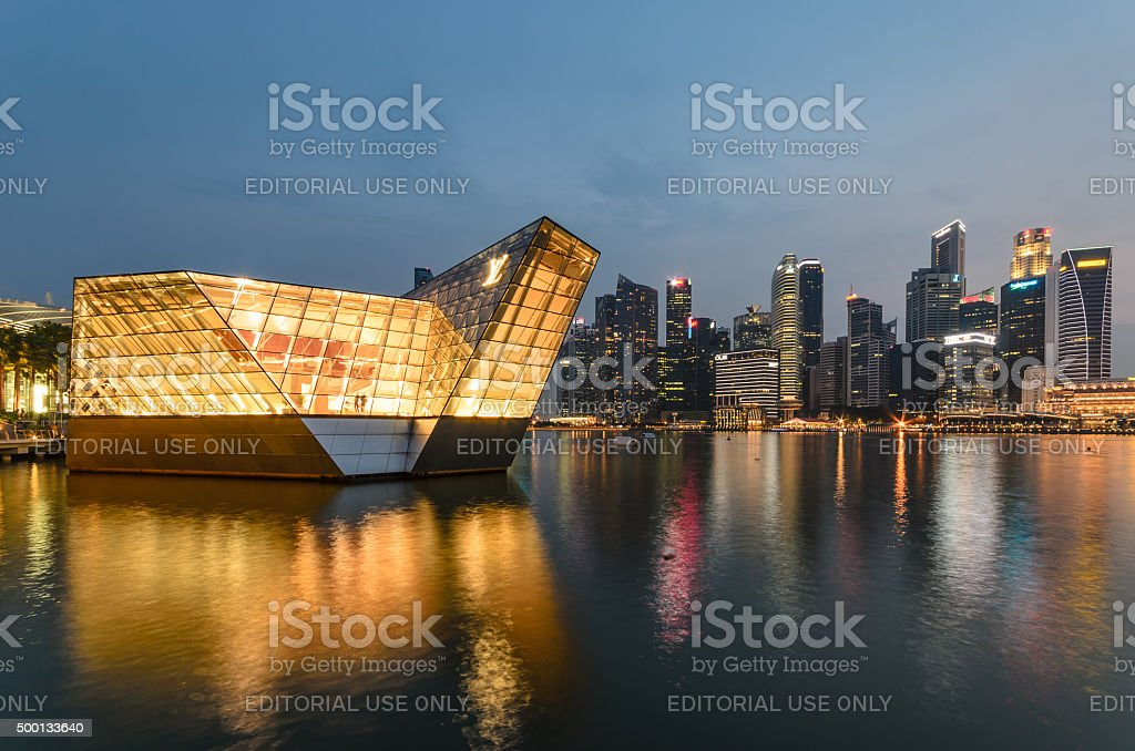 Louis Vuitton Store stock photo