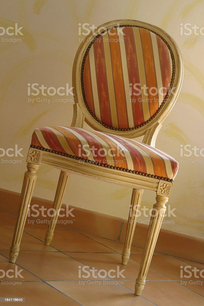 Louis XVI Chair stock photo