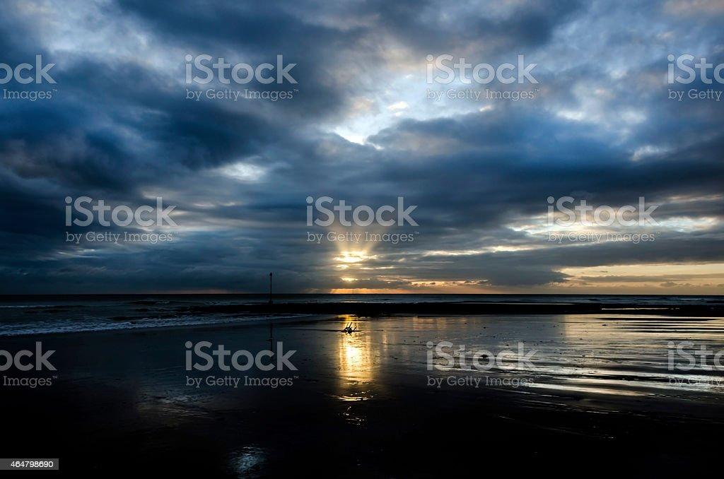 Louisa bay, Broadstairs. stock photo