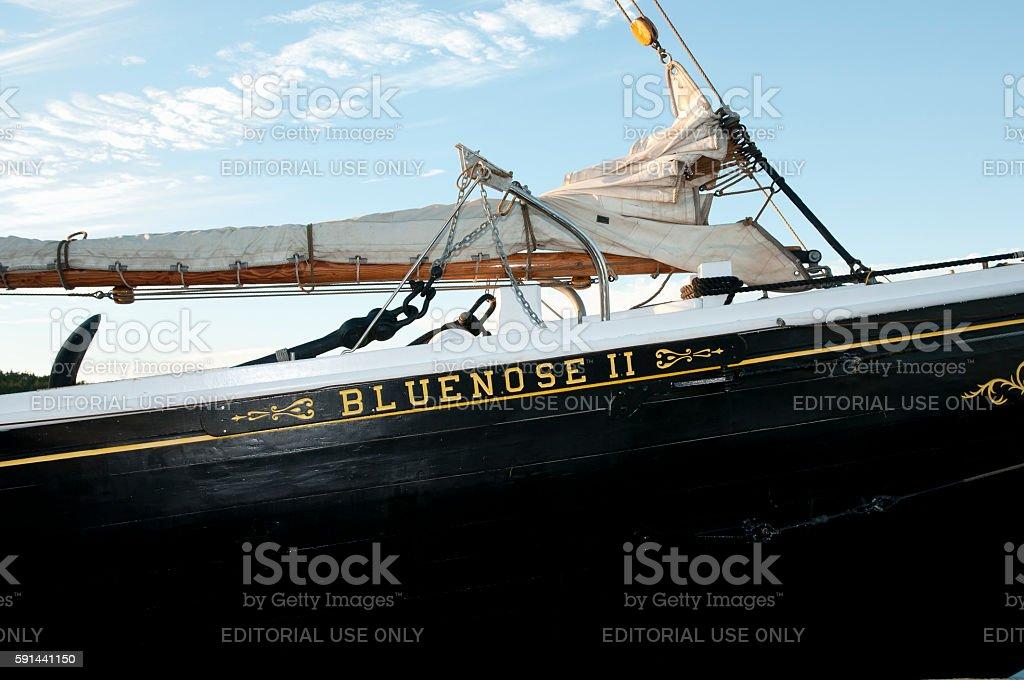 Louisbourg - Canada stock photo