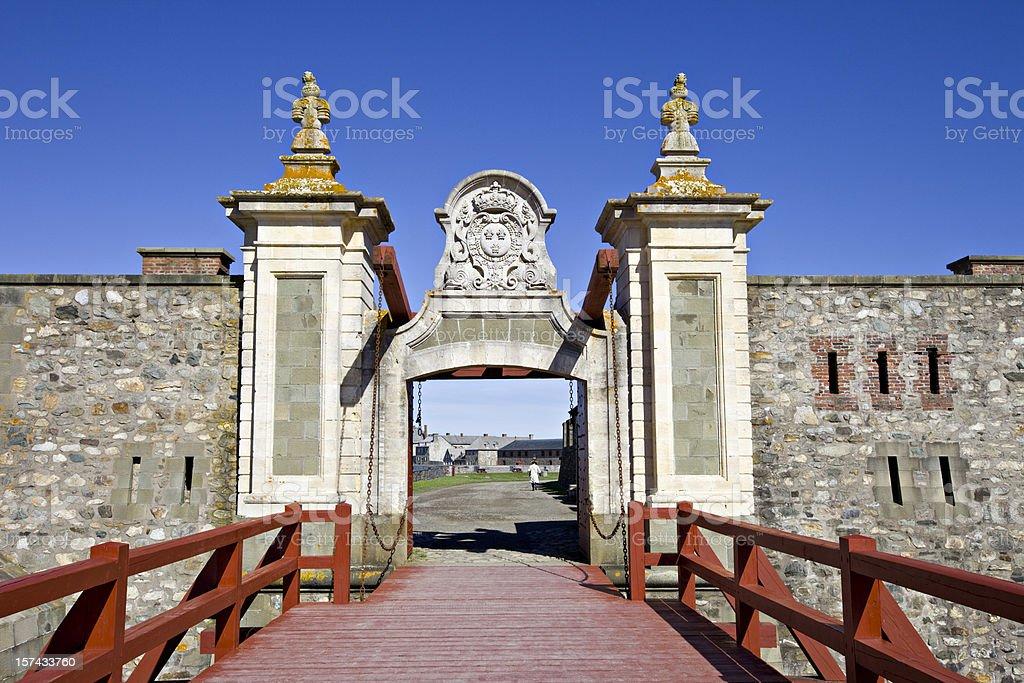 Louisbourg, Nova Scotia, Canada royalty-free stock photo