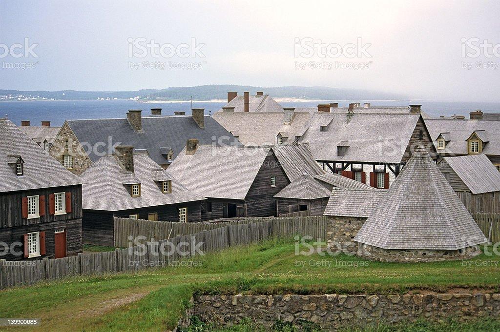 Louisbourg royalty-free stock photo