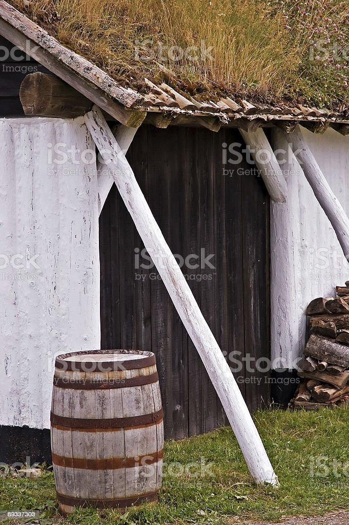 Louisbourg stock photo