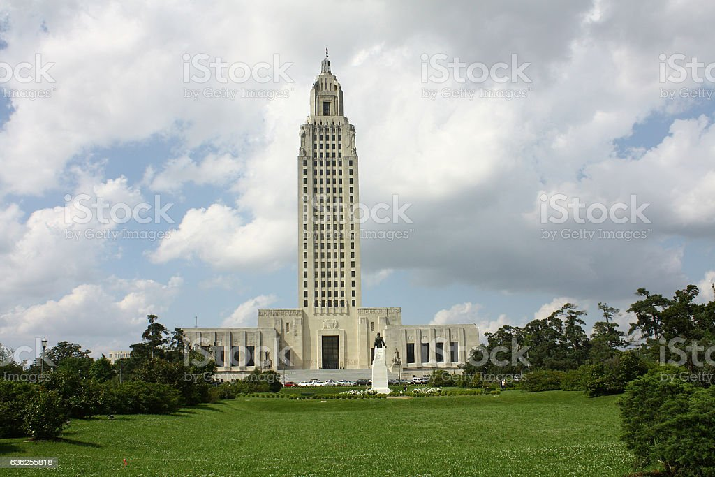Louisiana state capitol, Baton Rouge,Louisiana stock photo