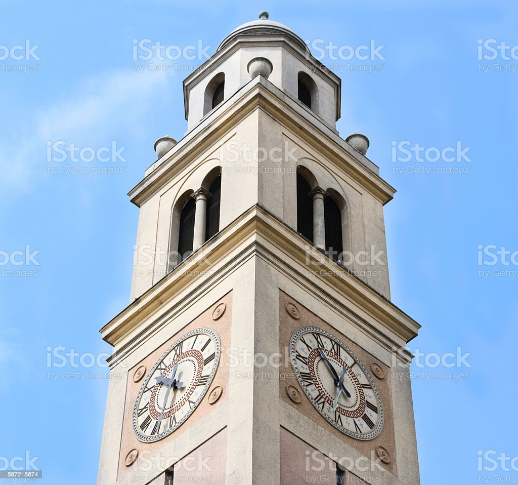 Louisiana State University Memorial Bell Tower stock photo