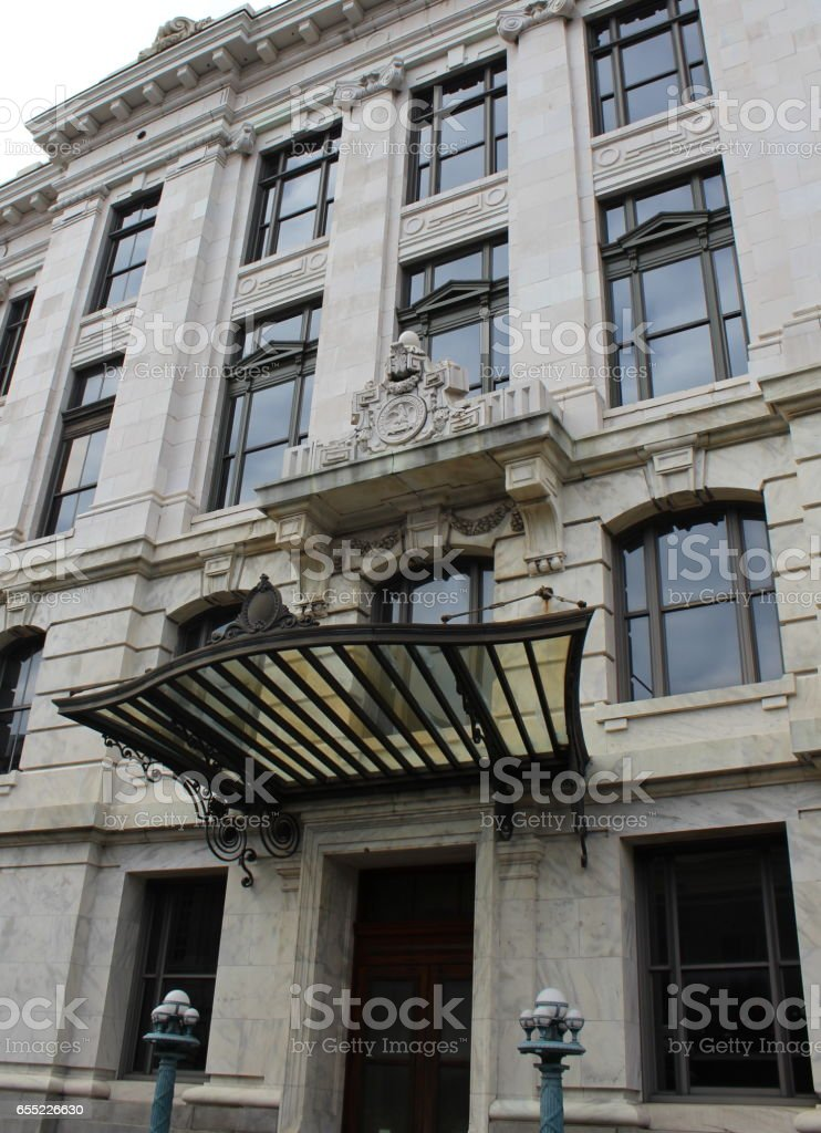 Louisiana Supreme Court, French Quarter, New Orleans stock photo