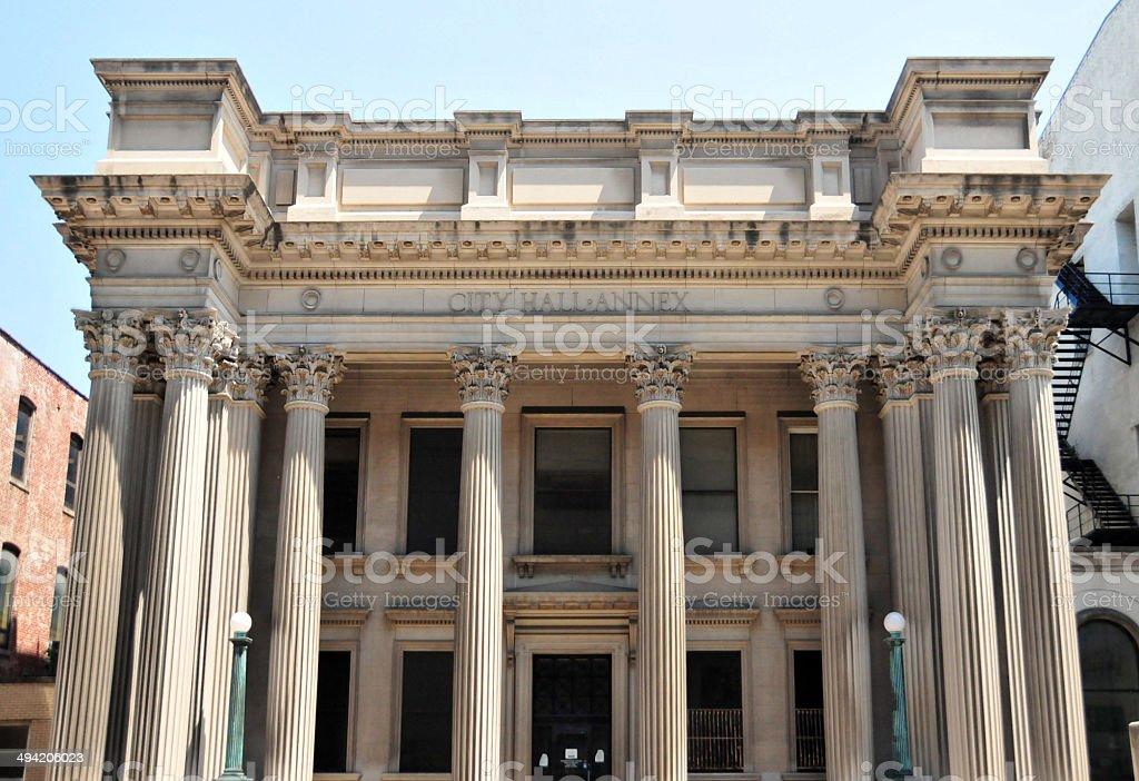 Louisville city hall annex stock photo