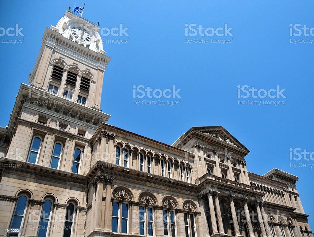 Louisville City hall stock photo
