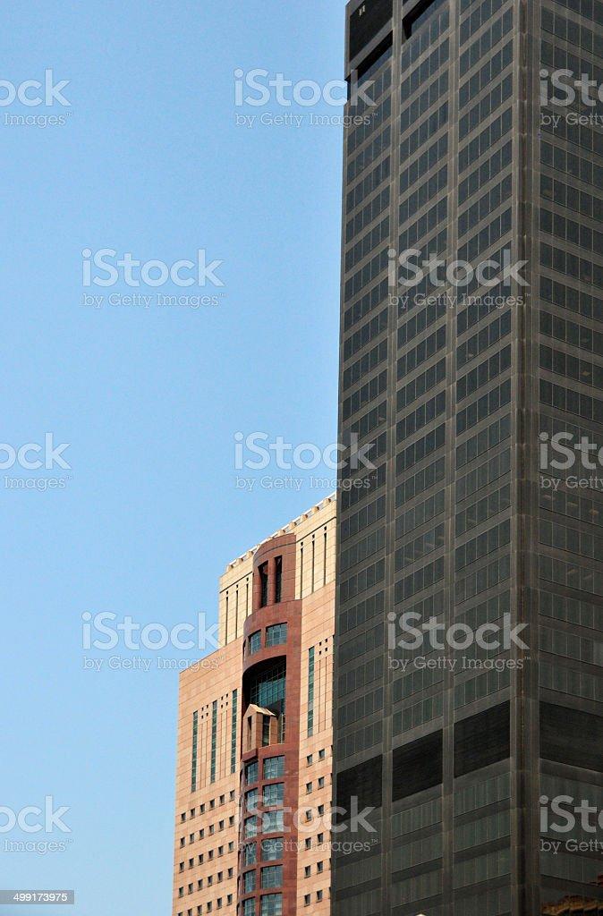 Louisville, Kentucky, USA: downtown skyscrapers stock photo