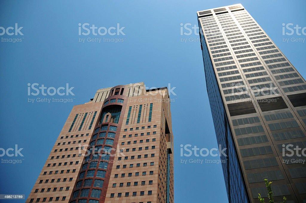 Louisville, Kentucky, USA: skyscrapers stock photo