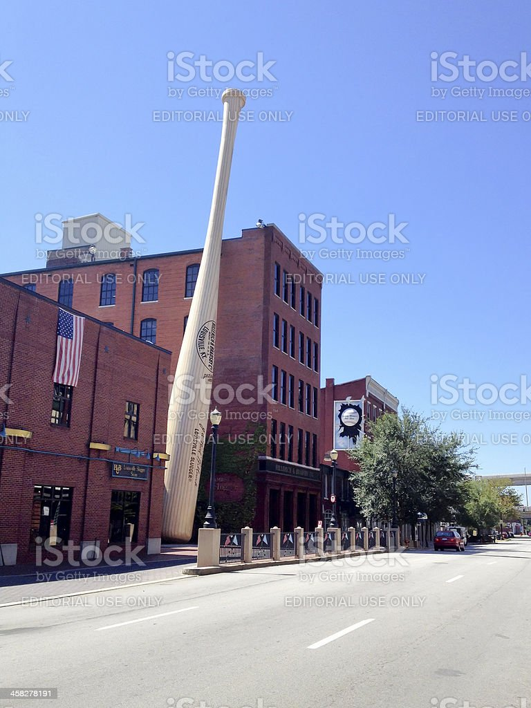 Louisville Slugger Bats Museum and Factory. stock photo